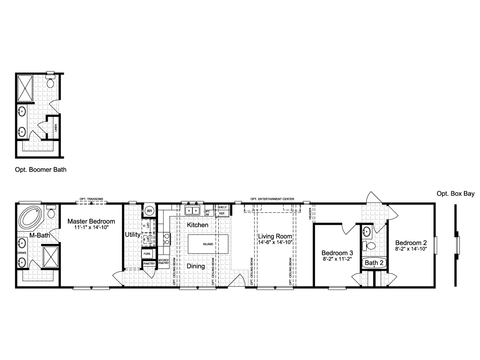 >The Cheyenne G376D6 or FF16763F Floor Plan
