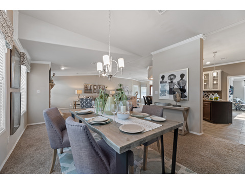 Hacienda III Dining Area by Palm Harbor Homes - 4 Bedrooms, 3.5 Baths, 3,012 Sq. Ft.