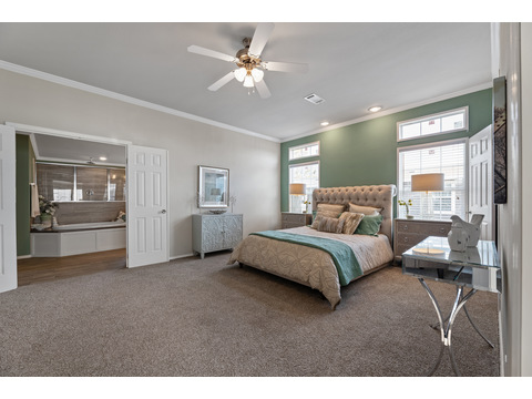 Hacienda III Master Bedroom by Palm Harbor Homes - 4 Bedrooms, 3.5 Baths, 3,012 Sq. Ft.