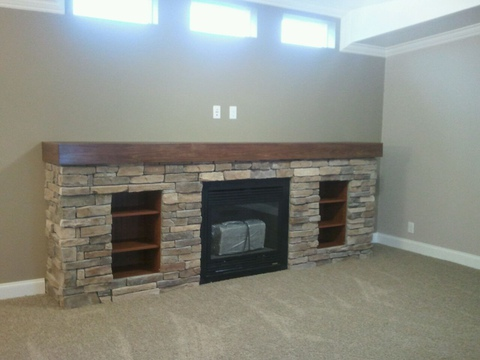 Fireplace - Redwood X4646R by Palm Harbor Homes