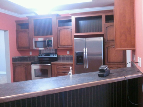 Kitchen - Redwood X4646R by Palm Harbor Homes