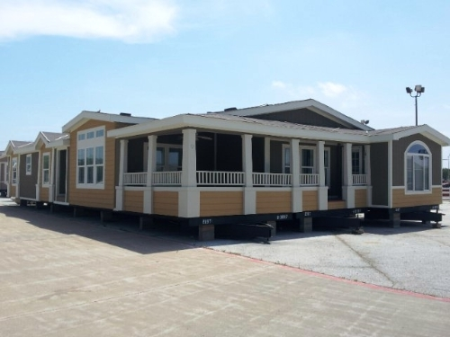 Triple wide mobile homes dallas tx for Triple net houses