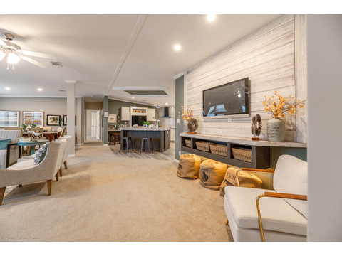 Open living space - The Kennedy HST3606V by Palm Harbor Homes
