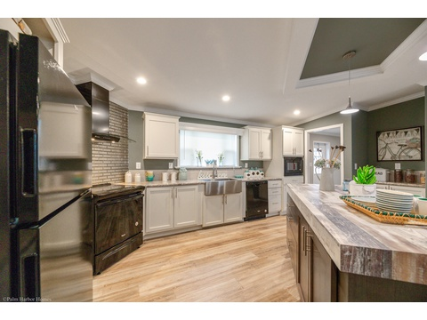Kitchen - The Kennedy HST3606V by Palm Harbor Homes
