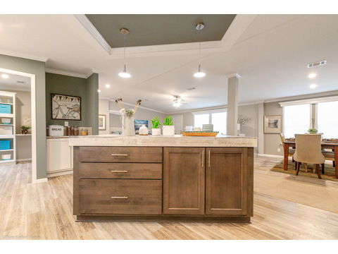 Kitchen island - Kennedy by Palm Harbor Homes