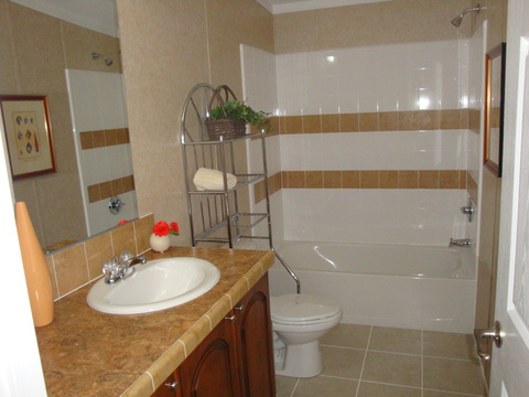Guest bath - Sequoia T4766T by Palm Harbor Homes