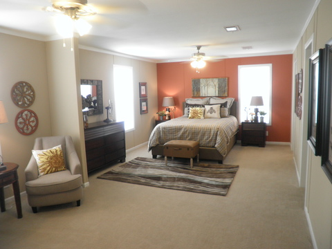 Look at that huge master bedroom! - Scottsdale KSP4769D by Palm Harbor Homes