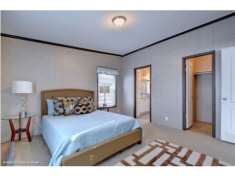Master bedroom - The Cypress SA30543C by Palm Harbor Homes