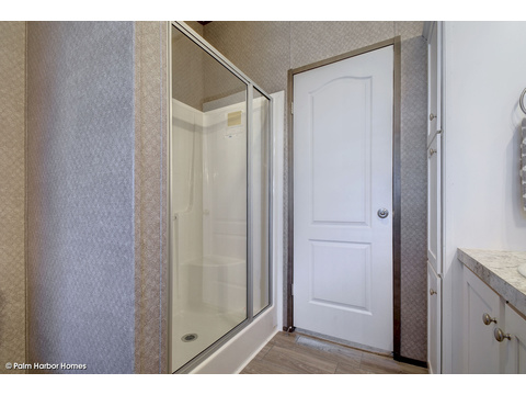 Separate shower in master bath - The Cypress SA30543C by Palm Harbor Homes