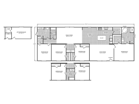 >Villager Model 28764A Floor Plan