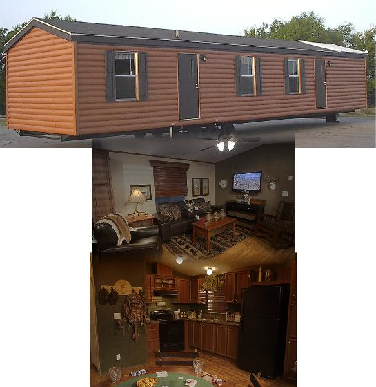 Log Cabin With Lifetime Warranty