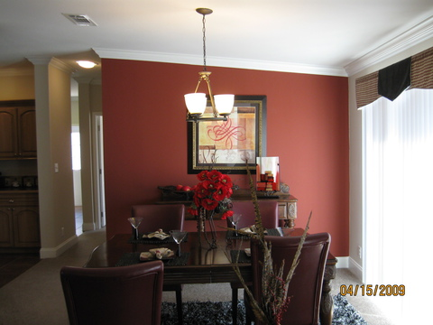 Dining room  - Sierra III X4646J by Palm Harbor Homes