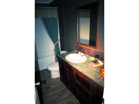 Very large secondary bathroom!  The Landrace by Palm Harbor Homes - 3 Bedrooms, 2 Baths, 1920 Sq. Ft.