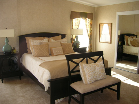 Master Bedroom - Forest Park T3626D by Palm Harbor Homes