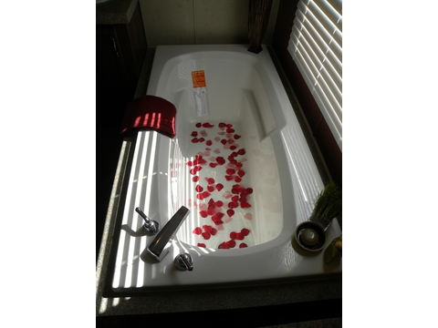 How would you like to soak away the days stress in this tub?