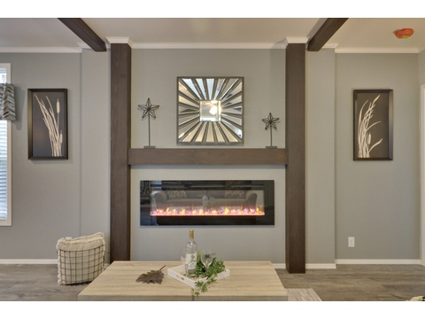 Fireplace - Encore SM18763E by Palm Harbor Homes