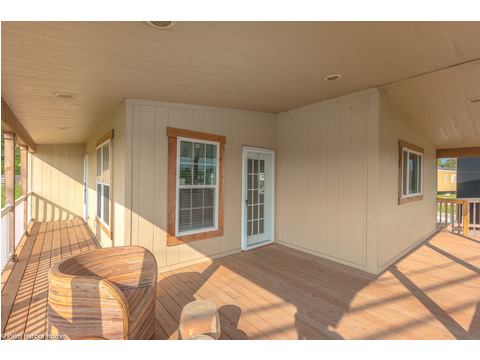 Another view of the optional extended porch - The Yukon KHT368A2 by Palm Harbor Homes