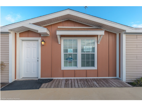 The Pelican Bay has a great walk-up appeal - Palm Harbor Manufactured Home in Florida - 3 Bedrooms, 2 Baths, 2,022 Sq. Ft. - 30' x 68'