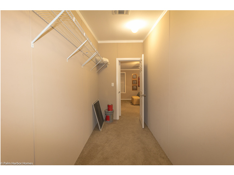 Huge master closet in The Pelican Bay - Palm Harbor Manufactured Home in Florida - 3 Bedrooms, 2 Baths, 2,022 Sq. Ft. - 30' x 68'