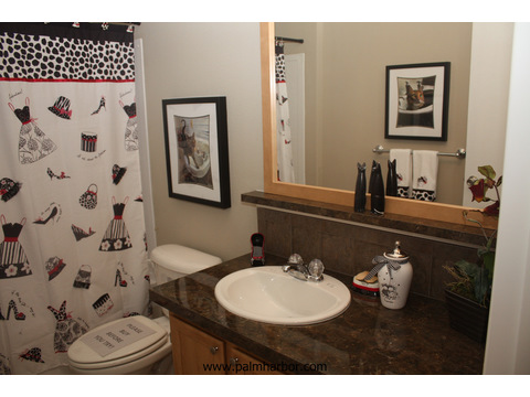 2nd Bathroom  - The Frontier 4P4S100, Palm Harbor Homes