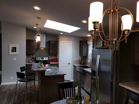 Another view of kitchen - The Frontier 4P4S100, Palm Harbor Homes