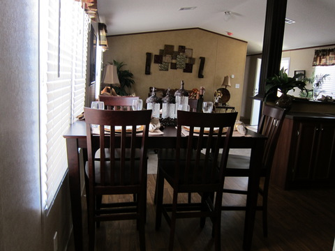 Dining area - The Phoenix II TLI476X6 by Palm Harbor Homes