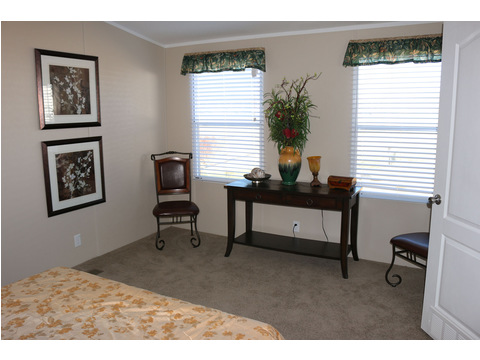 Master bedroom - The Home Box Office by Palm Harbor Homes
