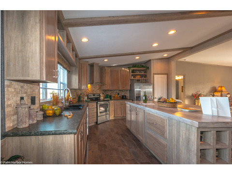 Kitchen - The Homerun ML30724R by Palm Harbor Homes