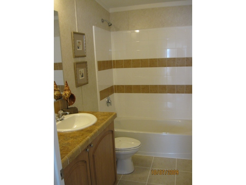 Guest Bath - Oak P4566I by Palm Harbor Homes