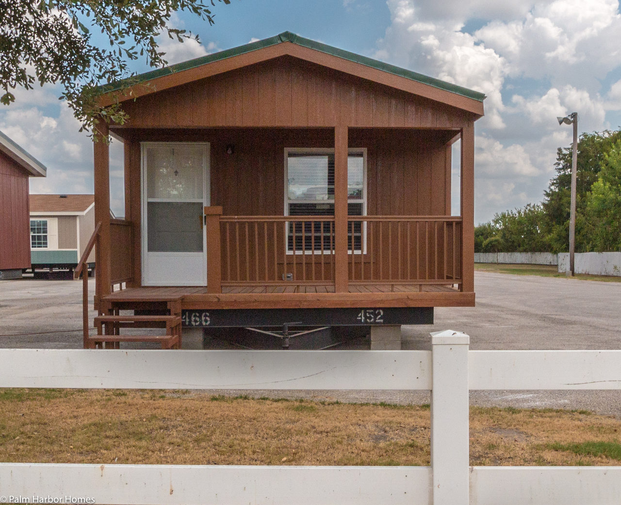 The cabana iii sm16612c manufactured home floor plan or for Cottage manufactured homes
