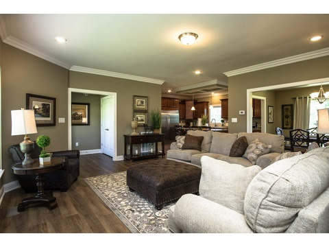 Living Room - The Stanley, 3 Bedrooms, 2 Baths, 1,953 Sq. Ft.