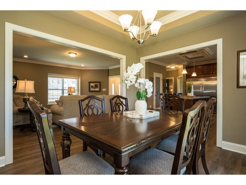 Dining Room - The Stanley, 3 Bedrooms, 2 Baths, 1,953 Sq. Ft.