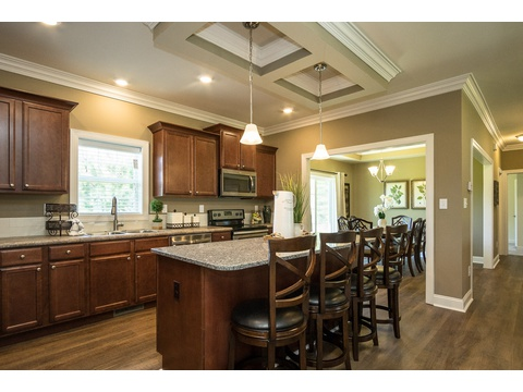 Kitchen and Dining Room - The Stanley, 3 Bedrooms, 2 Baths, 1,953 Sq. Ft.