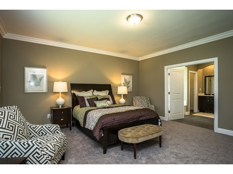 Master Bedroom - The Stanley, 3 Bedrooms, 2 Baths, 1,953 Sq. Ft.