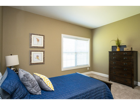 Second Bedroom - The Stanley, 3 Bedrooms, 2 Baths, 1,953 Sq. Ft.