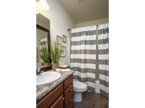 Guest Bath - The Stanley, 3 Bedrooms, 2 Baths, 1,953 Sq. Ft.