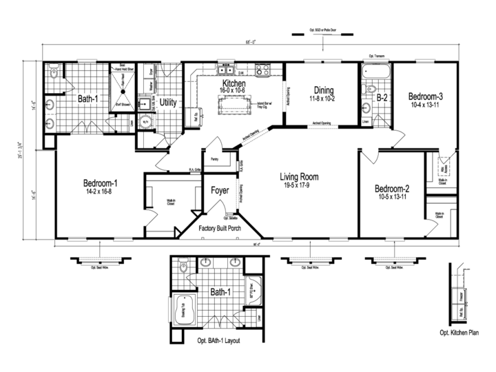The Stanley Floor Plan Manufactured Home Floor Plan Or Modular Plans