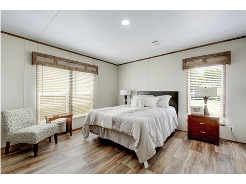 Master Bedroom - The Villager Model 28563A - 3 Bedroom 2 Bath - 1492 sq. ft.
