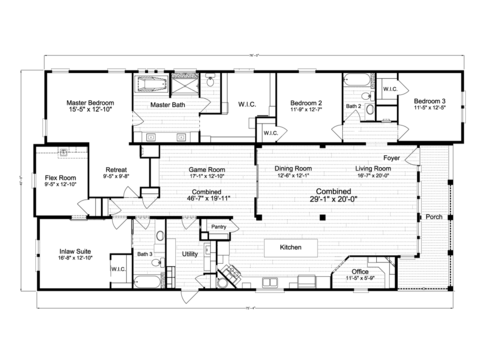 >La Belle IV X4769H Floor Plan