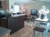 Open living space - The Cabana TLG256T9 by Palm Harbor Homes