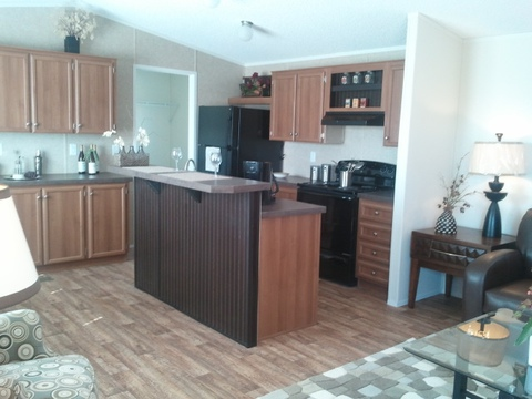 Kitchen - The Cabana TLG256T9 by Palm Harbor Homes