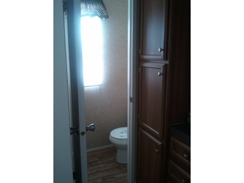 Private commode - The Cabana TLG256T9 by Palm Harbor Homes