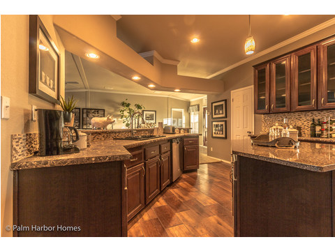 Kitchen - Hacienda II by Palm Harbor Homes