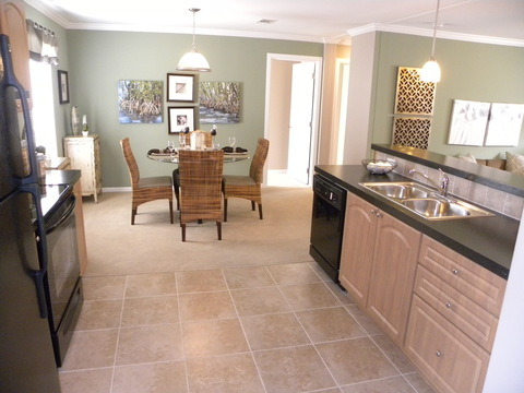 Dining area - Mesa KSP3446U by Palm Harbor Homes