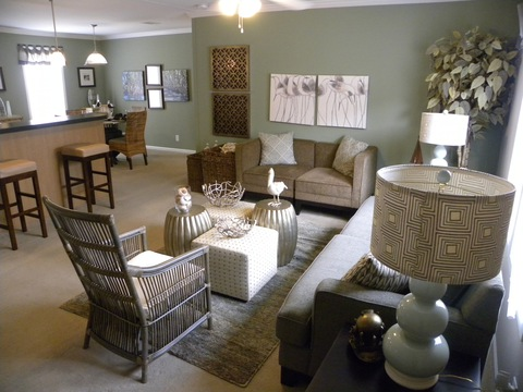 Living room - Mesa KSP3446U by Palm Harbor Homes
