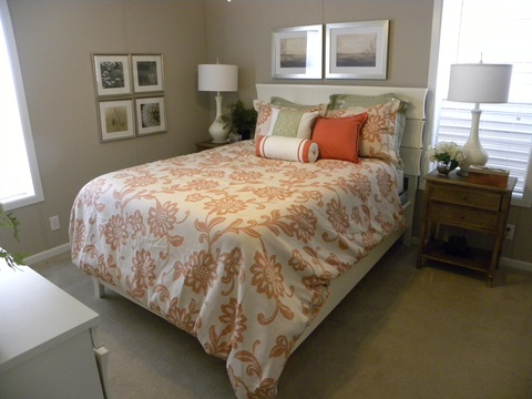Master bedroom - Mesa KSP3446U by Palm Harbor Homes