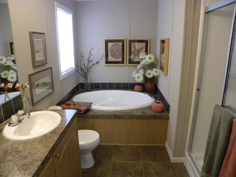 Master bath - Mesa KSP3446U by Palm Harbor Homes