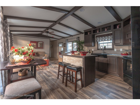 Kitchen and dining area - Model 16763L