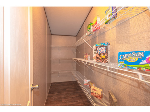 Huge walk-in pantry - The Builtmore HPT476X5 by Palm Harbor Homes