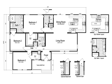 >The Brevard Floor Plan